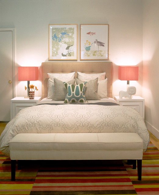 Serene Bedroom Contemporary Los Angeles By Weego Home