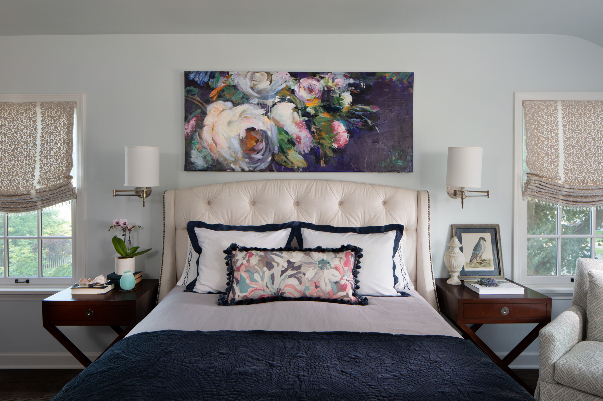 Serene Curated Bedroom