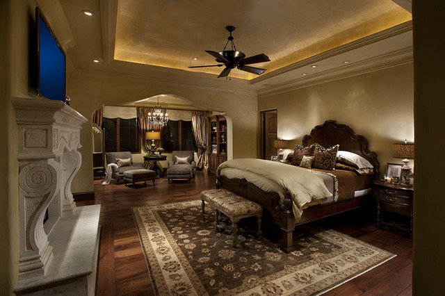 Serene master bedroom traditional bedroom other - Big master bedroom design ...