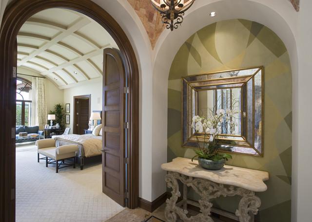 Seven Oaks 1 mediterranean-bedroom