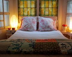 sfgirlbybay eclectic-bedroom