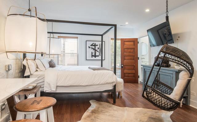 Loft Shabby Chic.Shabby Chic Studio Loft Contemporary Bedroom Chicago