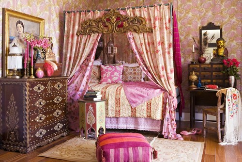 Eclectic Bedroom by Santa Monica Interior Designers   Decorators Annette  Tatum. 12 Bohemian Bedrooms Filled With Exotic Decor And Plenty Of Color