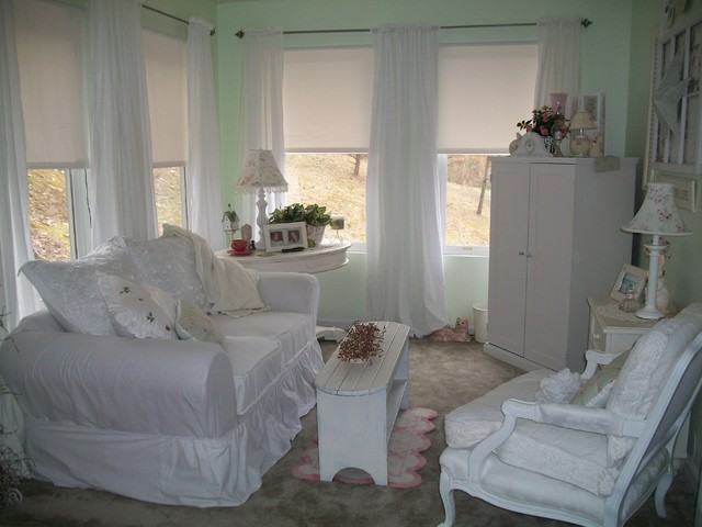 Shabby guestroom~   shabby chic style   camera da letto   other metro