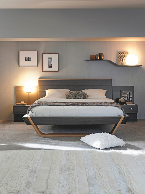 Shannon Grey Oak Modern Bedroom Toronto By Gautier