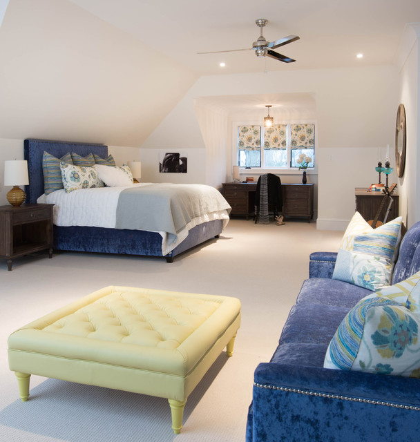 Bedrooms Transitional Home: Shanty Bay Lake House