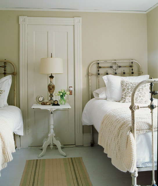 Shabby Chic Bedrooms: Shelter Island Fisherman's Cottage