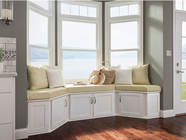 Shenandoah Cabinetry Beach Style Bedroom Seattle
