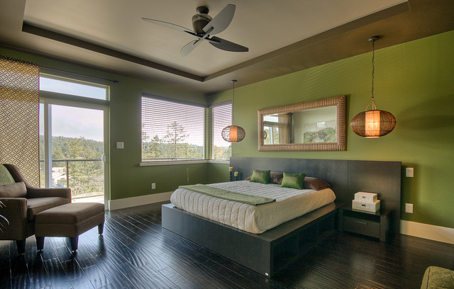 Sheriff Way Residence contemporary-bedroom