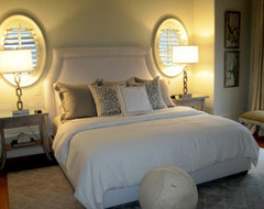 Sherry Hart eclectic bedroom