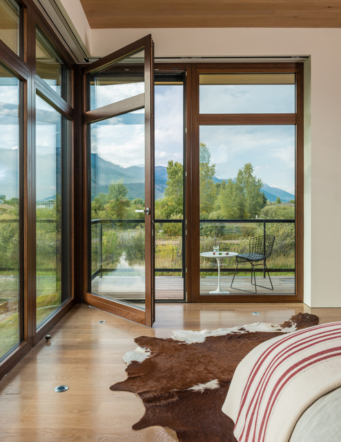 Shoshone Residence contemporary-bedroom