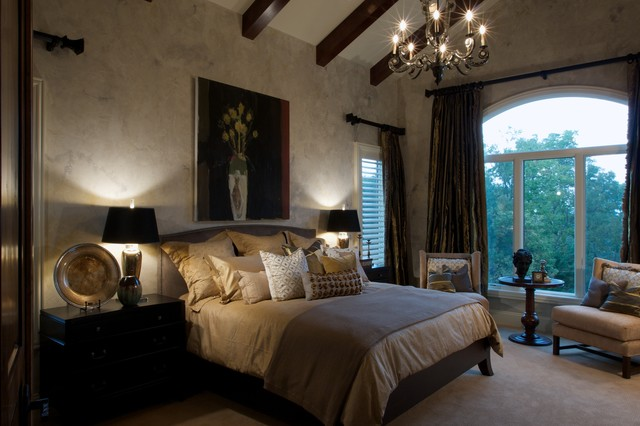 Showcase home mediterranean bedroom omaha by for Bedroom showcase designs