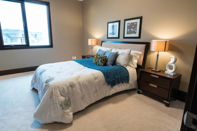Showhome in Watermark - 300 Spyglass Way NW traditional-bedroom