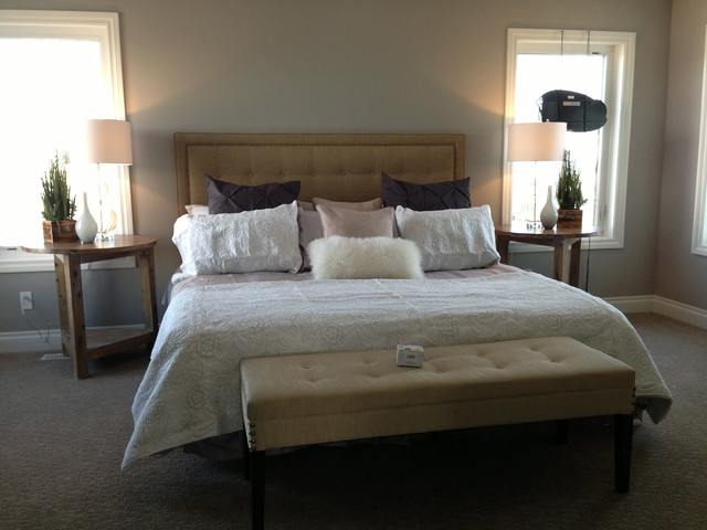 Showhome traditional-bedroom