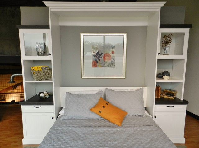 showroom wall bed beach style dallas by techline