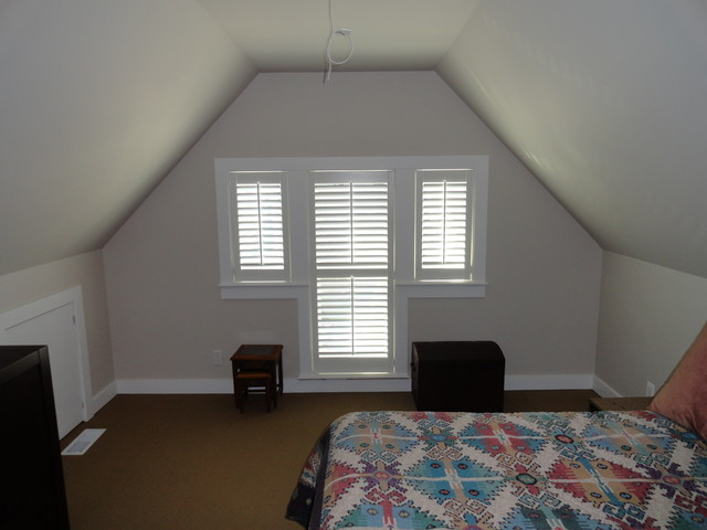 Shutters contemporary-bedroom