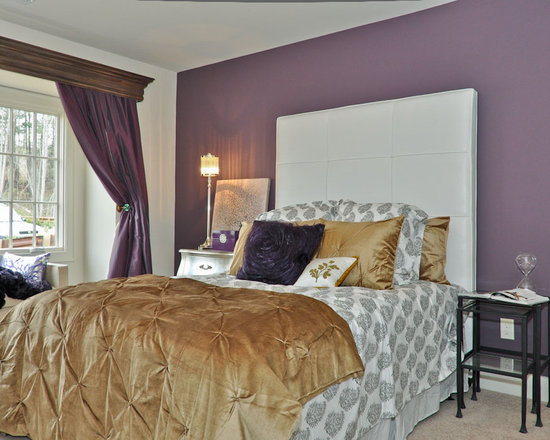 Purple And Gold Bedroom Design Ideas Remodel