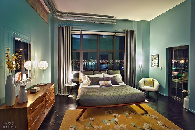 Silo Point Luxury Waterfront Condos Contemporary Bedroom