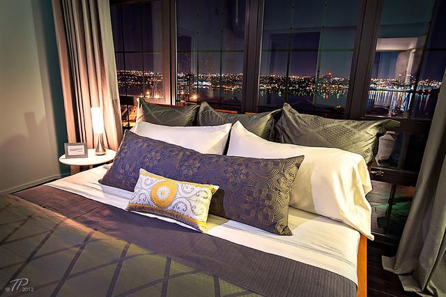 Silo Point Model Home modern-bedroom