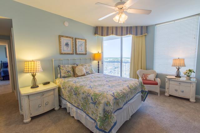 silver shells destin condo beach style bedroom