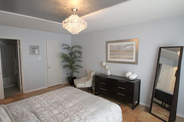 Silver themed bedroom bedroom