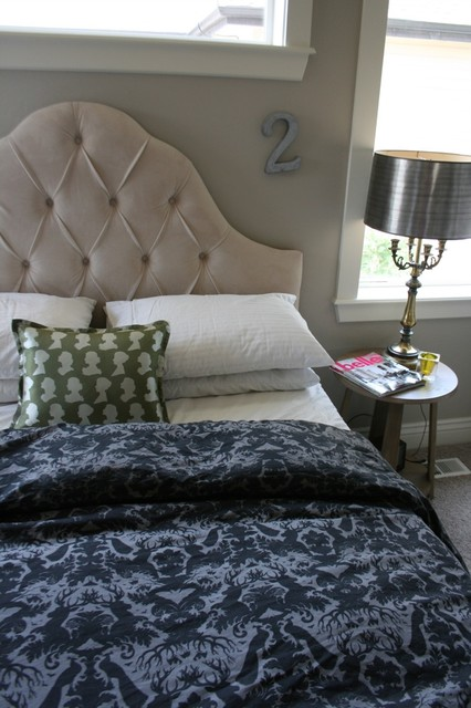 Simply Grove eclectic-bedroom