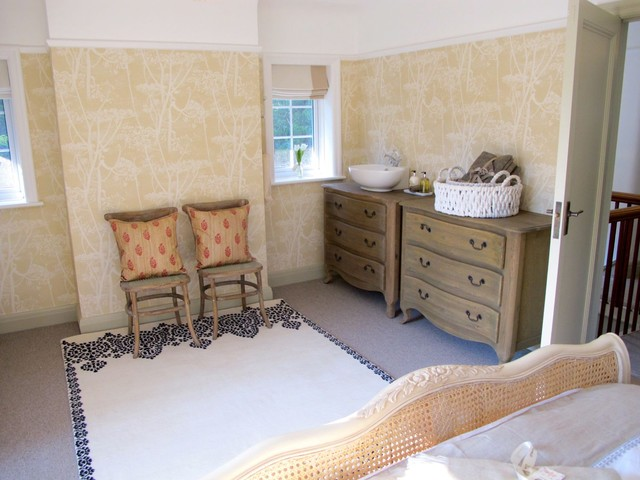 sink in drawer unit traditional bedroom london by walk