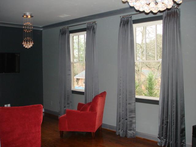Sitting Area In Master Bedroom Contemporary Bedroom Atlanta By Atlant