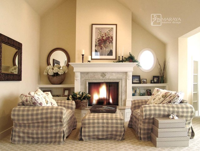 Sitting area in master bedroom beach style bedroom for Master bedroom with sitting area designs