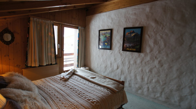 ski apartment   contemporary   bedroom   other   by