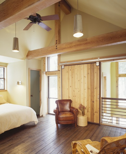 Ski House rustic-bedroom