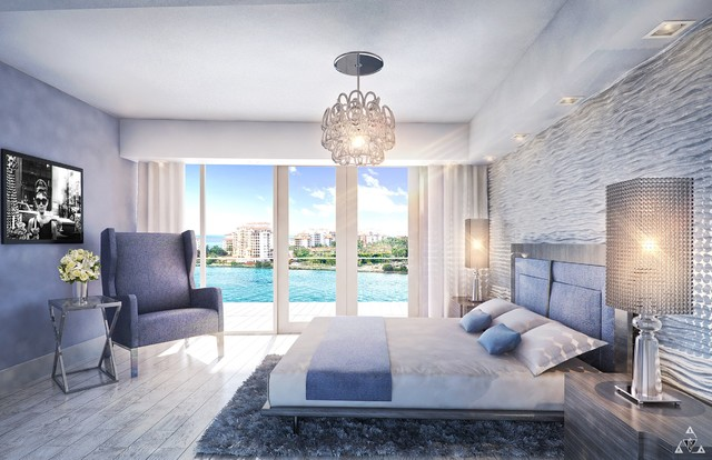 Sky Home Contemporary Bedroom Miami By Design Elements