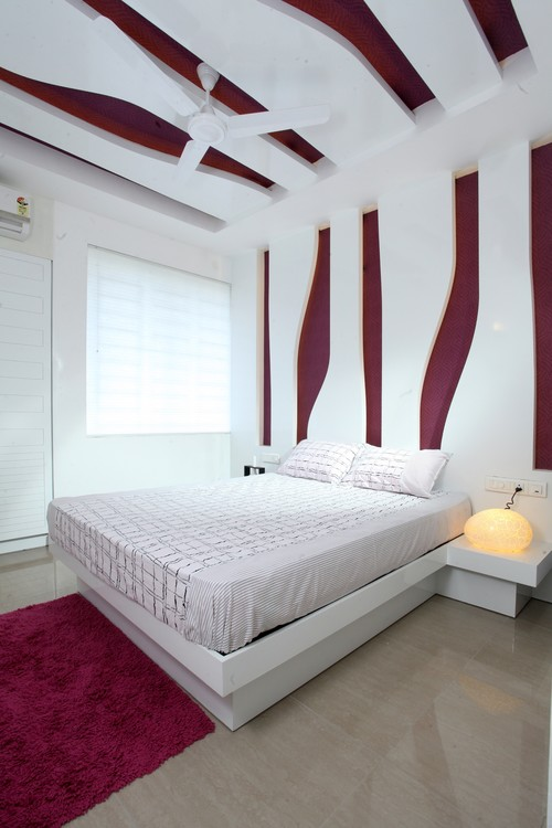 Color of the month decorating with burgundy abode for Burgundy bedroom designs