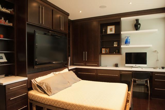 Sleek Urban Remodel. Pittsburgh contemporary-bedroom