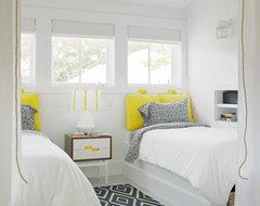Sleeping Loft - Dormers beach-style-bedroom