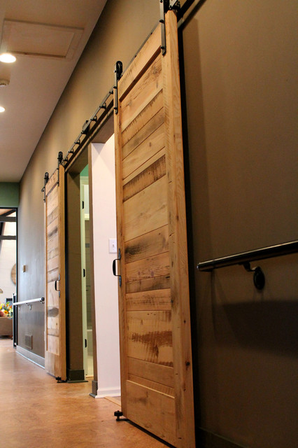 Sliding Barn Doors - Contemporary - Bedroom - other metro - by Reclaimed Lumber Products