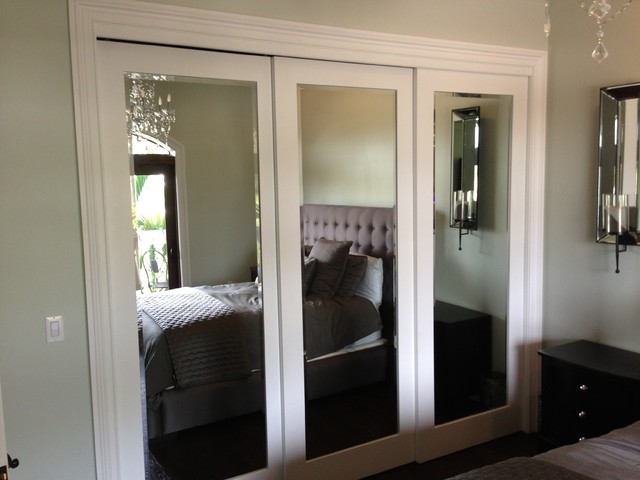 Sliding doors - Contemporary - Bedroom - miami - by Metro Door ...