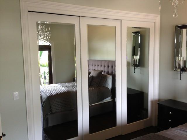 Sliding Doors Contemporary Bedroom Miami By Metro Renovation