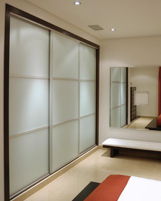 Sliding Doors Contemporary Bedroom Miami By Metro