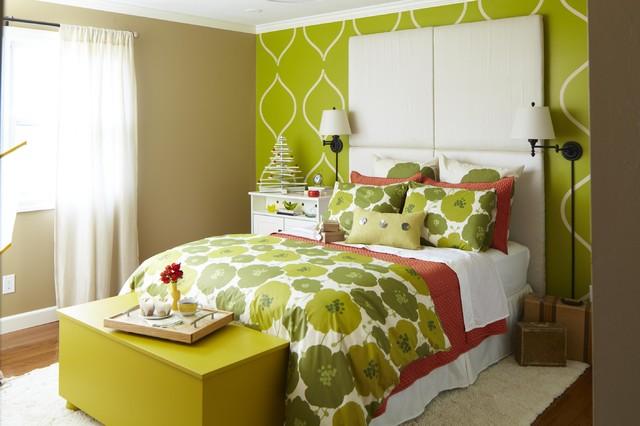 Small Bedroom Retreat contemporary-bedroom
