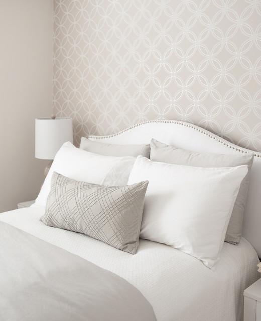Small Guest Bedroom contemporary-bedroom