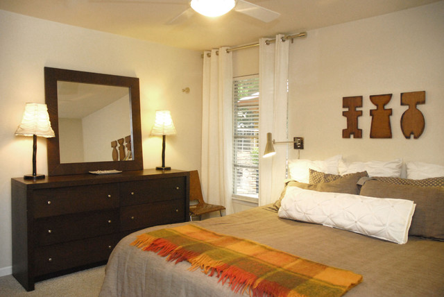Smart Space in a Cool Place traditional-bedroom