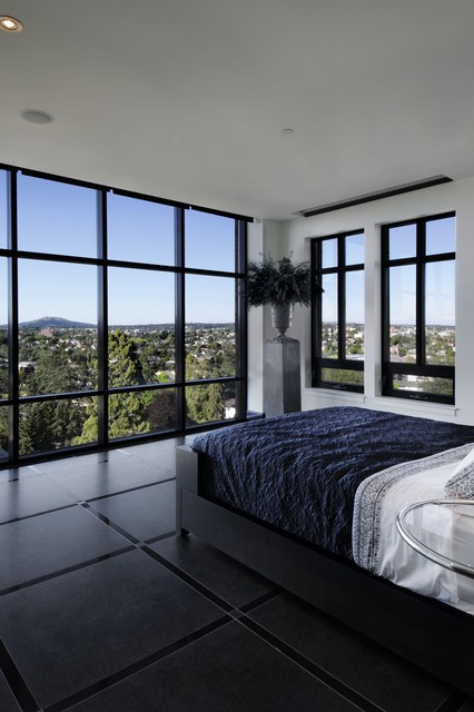 Smith Designs contemporary bedroom