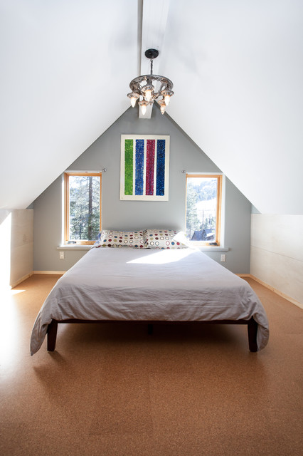 Snow County Cabin Remodel & Addition contemporary-bedroom