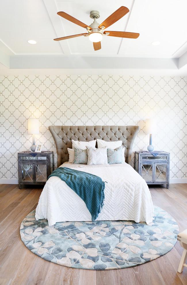 Bedroom - transitional bedroom idea in Salt Lake City