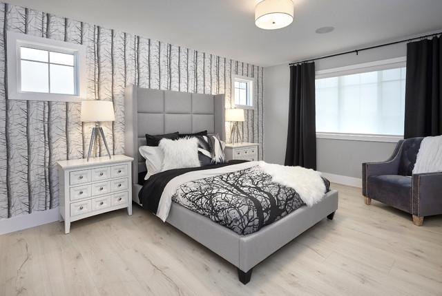 Sofia Master Bedroom Transitional Bedroom Edmonton By Cameron Homes Inc