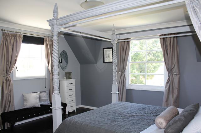 Soft Grey Master Bedroom