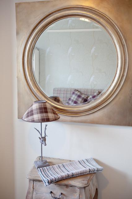 Soft Industrial Design Ealing Eclectic Bedroom