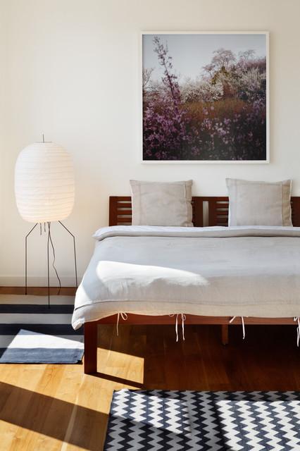 Soho Loft contemporary-bedroom