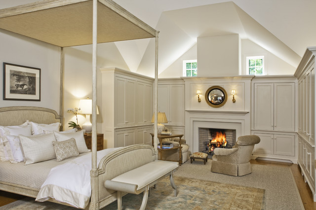 Solebury Residence traditional bedroom